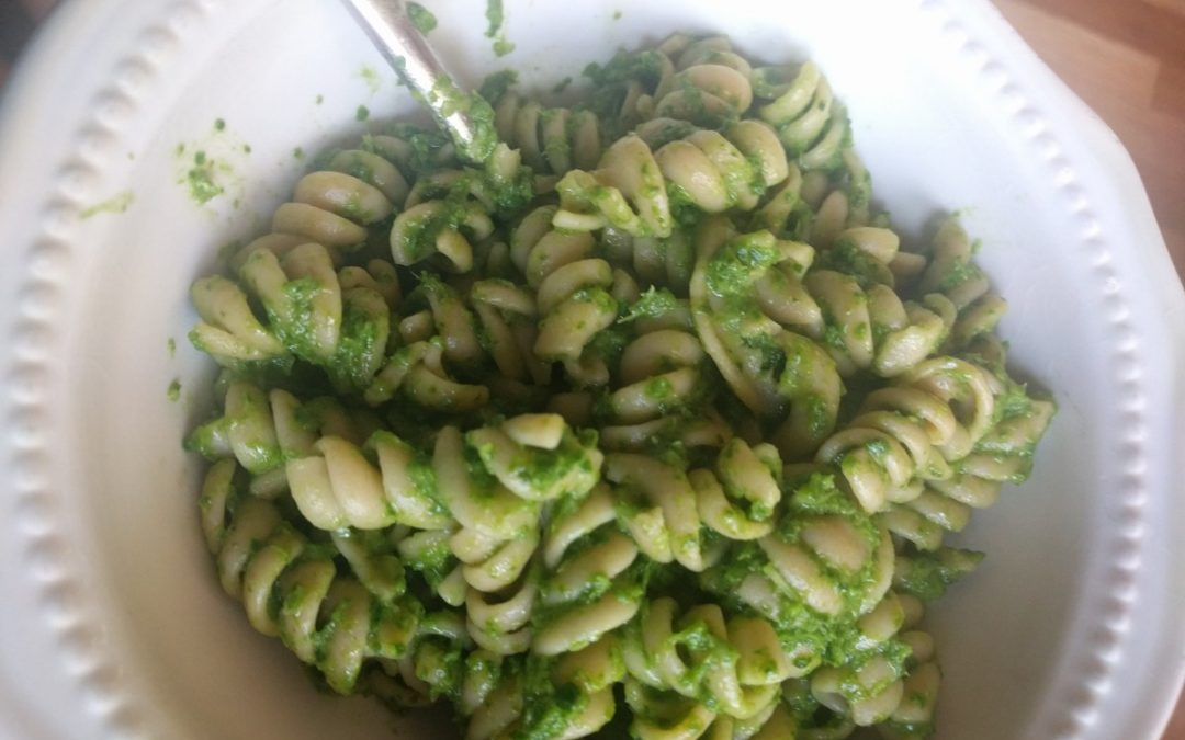 Community Flavor: Arugula Pesto