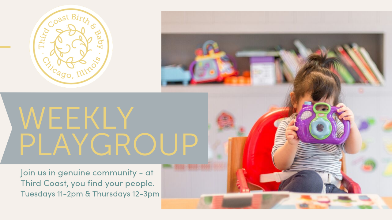 weekly playgroup promo