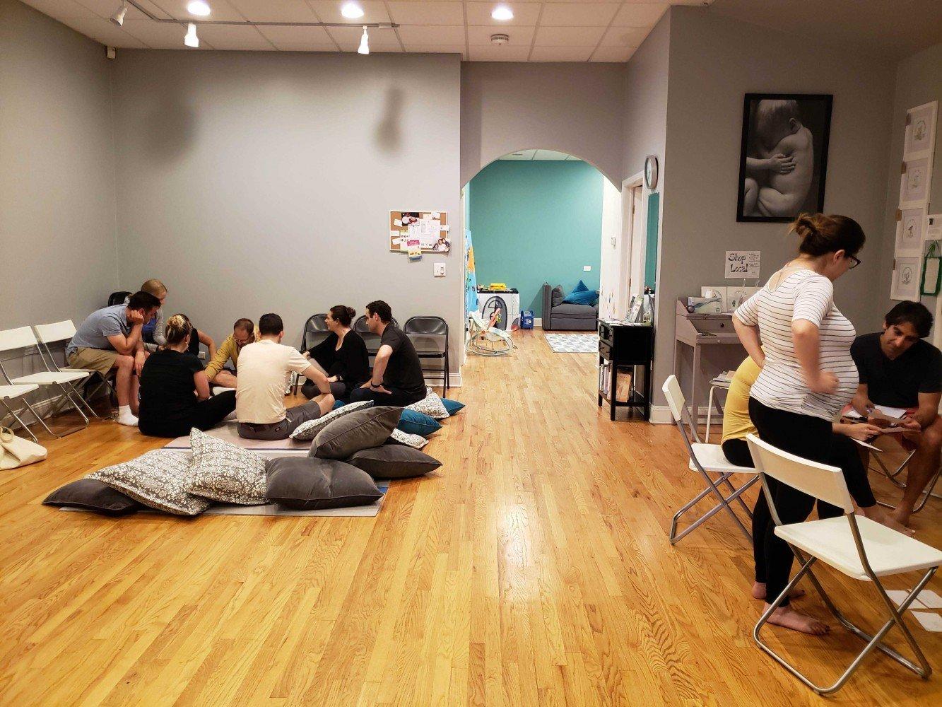 weekend childbirth class